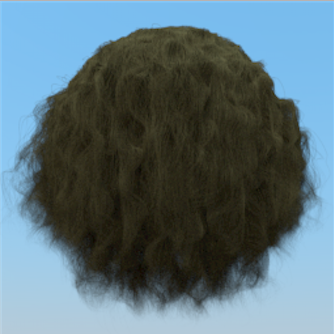 Hair Rendering based on Pbrt v2